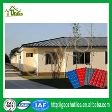 Plastic Roofing Material/Modern House Plans PVC Sheet/Spanish Roof Design With Low Price