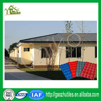 Plastic Roofing Materials/Modern House Plans PVC Roof Sheet/Spanish Roof Design
