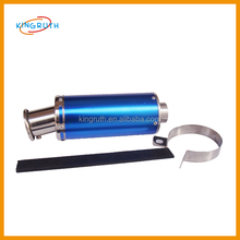 Colorful hot selling scooter Exhaust Pipe for GY6 125 150 scooter accessory
