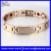 2015 fashion wholesale anti-static magnetic bracelet price