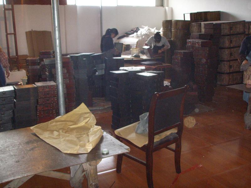 Petite bo te en bois coffre au tr sor vintage meubles for Entreposage meuble quebec