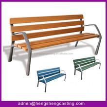 2015 hot selling popular design wooden cheap antique park benches,cast iron park bench
