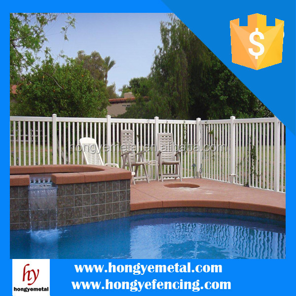 Health safety portable swimming pool fence to