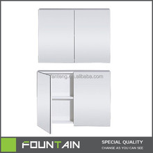 Environmental Protection Mirror Cabinet MDF Bath Mirror Customized Bathroom Mirror Cabinet