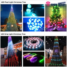 Alibaba Express Custom Outdoor Giant Christmas Tree Led Decorated Christmas Tree For Sale