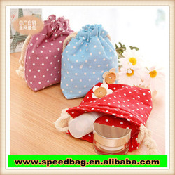 creative draw string bag collection package cute makeup bag canvas drawstring bag R431