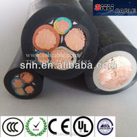 Asia local manufacture since 1984 H07RN-F Rubber Cable