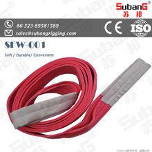 EN1492-1 CE ISO rigging manufacturer polyester webbing belt
