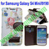 Wallet Stand Leather Case for Samsung Galaxy S4 Mini I9190