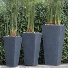 2014 European Style Tall Tapered Square planter for Sale