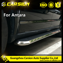 Top sell high quality running board side step for Opel Antara chevrolet captiva side steps