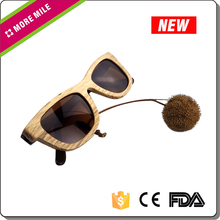 Personnalisé biodégradables et en bois ( bambou ) lunettes de soleil
