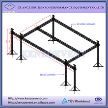 heavy duty aluminum truss system with flying sound wings