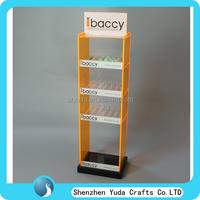 Hot acrylic e-juice display case, display shelf for e-liquid, e-juice display rack wholesale