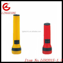 factory price plastic 1 bulb torch