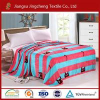 100% polyester flannel fleece blanket/kids blanket/children blanket factory China JCBL04080
