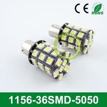 Good price led light auto tuning 1156-36smd 5050 led bulb lights for auto 12/24v volt 5050 smd led lights
