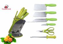 coltello da cucina coltelleria con verde pp maniglia