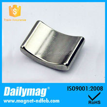 Manufacturer Supply Ferrite Arc Magnet With Good Quality