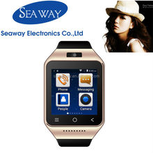 MTK6572 Dual Core 3g smart watch phone with 512MB+8G Memory 5.0MP camera