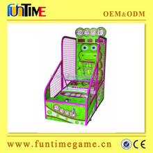 2015 Factory supplier arcade basket ball game machine price