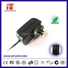Hot Sale Power Supply AC Adapter LED driver 9V 12V 15V 24V CCTV/LED/Lightings power adapter