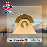 U Groove customized galvanized pulley wheel pvc tongue and groove ceiling with bolt and nut wheel