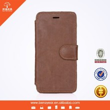PU leather mobile phone case card holder wallet for 4.7 inch i phone 6