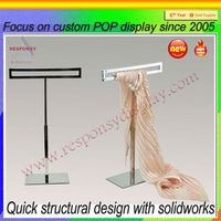 Wholesale Scarf hanging display stand fixture