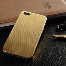 heat dissipation Luxury Aluminum Mesh case for iphone 4 4s 5 5s