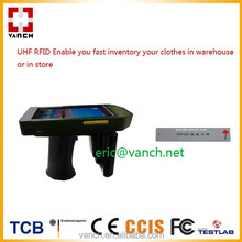 UHF enable you fast inventory your clothes with RFID handheld reader