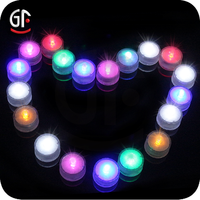 2015 Superb Decoration Wholesale Colorful Small Round Led Light With Battery