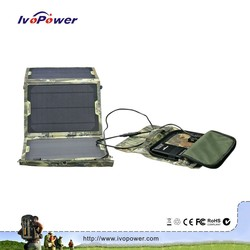 New style rechargeable detachable solar charger waterproof panel solar kit