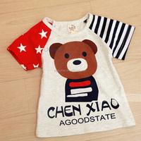 2015 Kids Korean Version of the Cubs Children T-Shirt Trends Comfortable boys costume