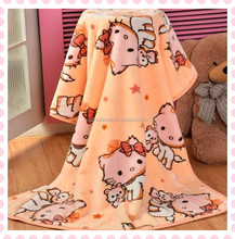 Hot Sales Baby 100% Polyester fleece Security Blanket