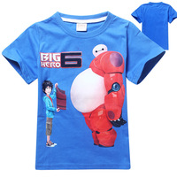 New Products 2015 For Kids Big Hero 6 Creative Cotton Tshirts