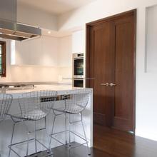 Interior Traditional Style Custom Walnut Wood Door Design