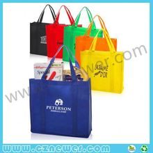 TOP SALE non woven beach bag with removable plastic insert