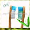 FDA approved 100% biodegradable disposable bamboo toothbrush for woman
