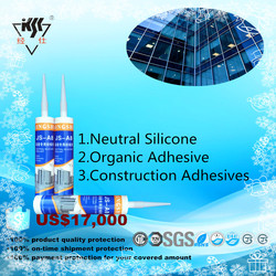 Organic Adhesive Neutral Silicone Construction Adhesives