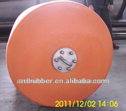 used to prevent damage to baot or dock with the help of foam elastomer fender