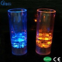 novelty drinkware with led light for bar