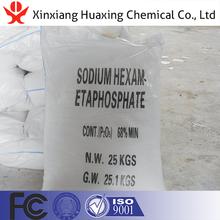 Sodium Hexametaphosphate Used As Selecting Agent