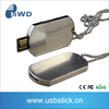 Wholesale Ball Chain Dog Tag Pendant usb 2.0 memory flash stick pen drive 8GB