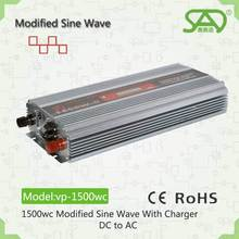modified sine wave 1500w power saved inverter charger