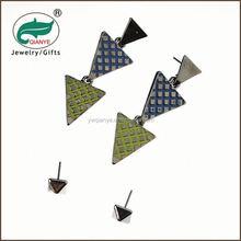 promotional wholesale lastest design gold gold fingding earring sets