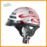 ABS helmet motocross half face motorcycle for safety helmet
