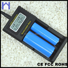 LCD universal intelligent AA/AAA Ni-MH / Li-ion pentax battery charger