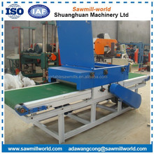automatic woodworking edge saw cutting machine