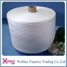100 spun polyester yarn 50s/1 knitting/weaving/sewing